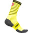 Castelli Podio Doppio 13 Socks Unisex yellow fluo/black
